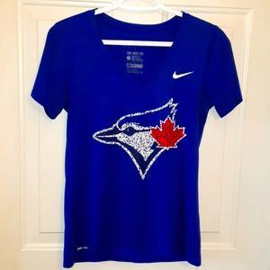 💕🐦 Nike Toronto Blue Jays Dri-fit shirt